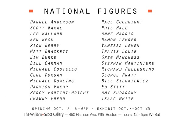 National FiguresB 4 x 6