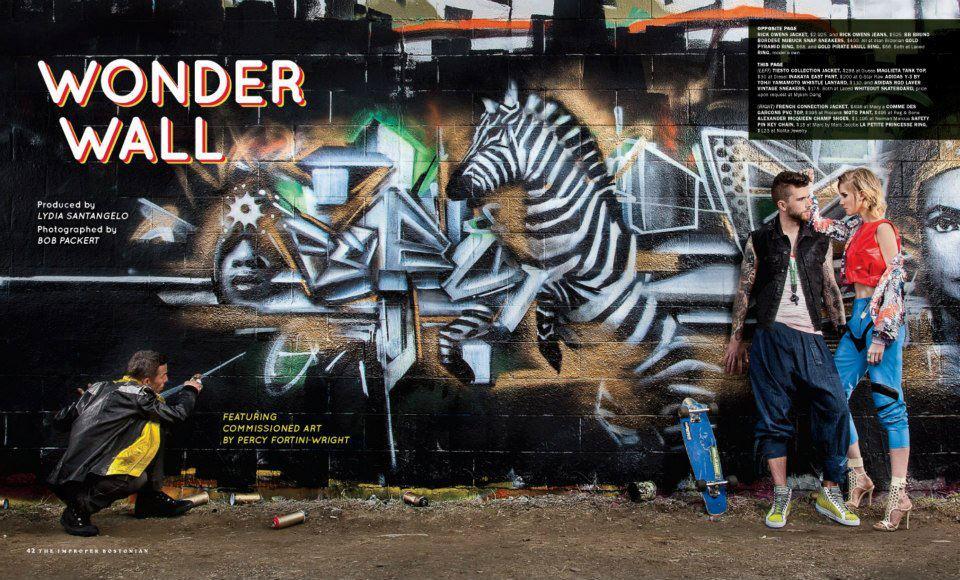Wonder Wall - Improper Bostonian